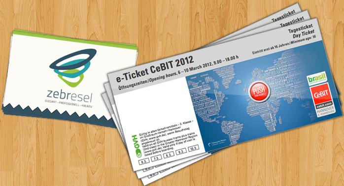 Wir verlosen 3 Tickets für die CeBIT 2012